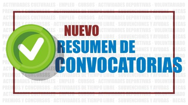 Actividades culturales, becas, cursos, empleo, etc...